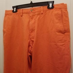 Polo by Ralph Lauren Orange Slacks